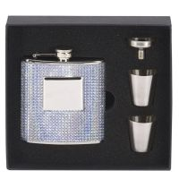 Vision Bling 6oz Flask with</br>HF004